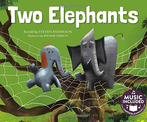 9781632903860: Two Elephants (Sing-along Math Songs)