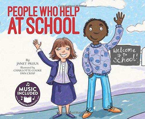 People Who Help at School: Preus, Janet