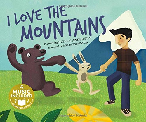 9781632905376: I Love the Mountains (Sing-along Science Songs)