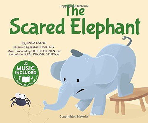 The Scared Elephant (Me, My Friends, My Community: Songs about Emotions): Jenna Laffin