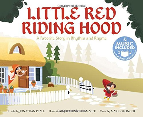 9781632907691: Little Red Riding Hood: A Favorite Story in Rhythm and Rhyme (Fairy Tale Tunes)