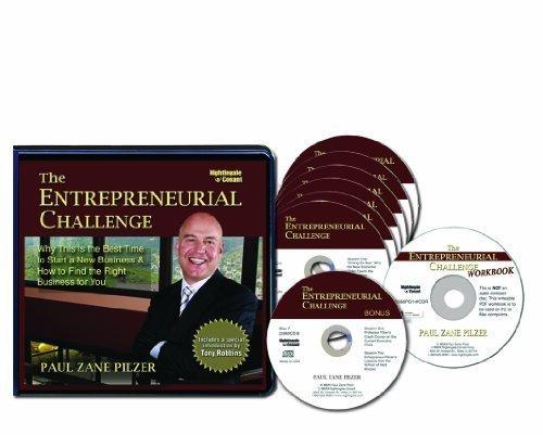 9781633120266: The Entrepreneurial Challenge (6 CDs, Bonus CD & Writable PDF Workbook)