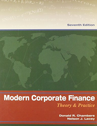 9781633153165: Modern Corporate Finance: Theory & Practice 7th Ed