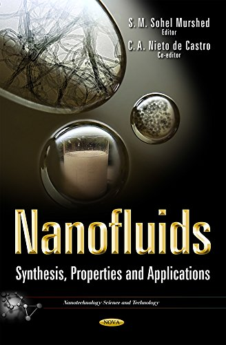 9781633216778: Nanofluids: Synthesis, Properties and Applications