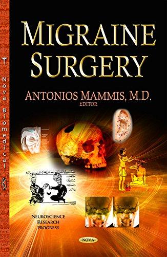 9781633217614: Migraine Surgery (Neuroscience Research Progress)