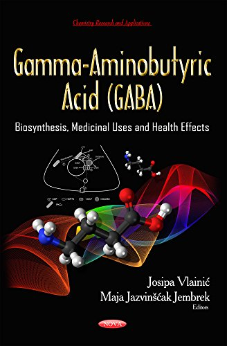 9781633218383: Gamma-Aminobutyric Acid (Gaba): Biosynthesis, Medicinal Uses and Health Effects