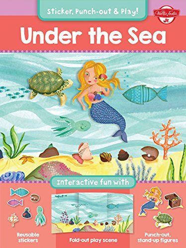 9781633220010: Under the Sea: Interactive Fun With Reusable Stickers, Fold-out Play Scene, and Punch-out, Stand-up Figures!