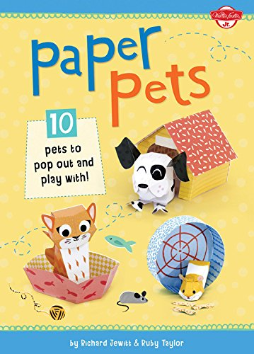 Paper Pets: 10 Pets to Pop Out and Play With! 9781633220072 Young animal lovers can enjoy pressing-out and creating these cool paper pets, including cats, dogs, and many more. Just like a real pet
