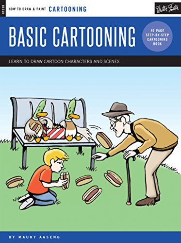 9781633220096: Cartooning: Basic Cartooning: Learn to draw cartoon characters and scenes (How to Draw & Paint)
