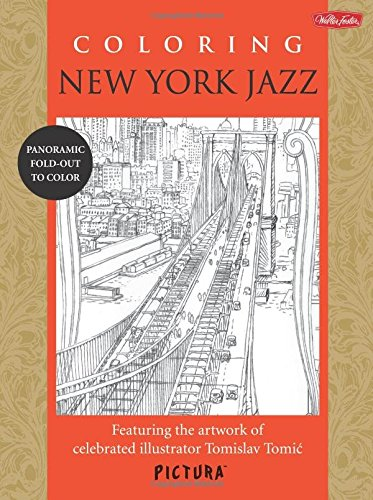Coloring New York Jazz : Featuring the: Tomislav Tomic