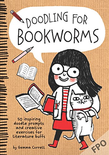 9781633220515: Doodling for Bookworms: 50 inspiring doodle prompts and creative exercises for literature buffs
