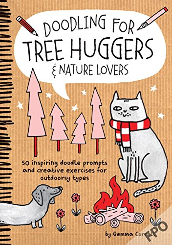 9781633220522: Doodling for Tree Huggers & Nature Lovers: 50 inspiring doodle prompts and creative exercises for outdoorsy types