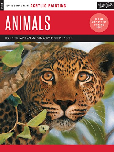 Acrylic: Animals: Learn to paint animals in acrylic step by step (How to Draw & Paint): Kate ...