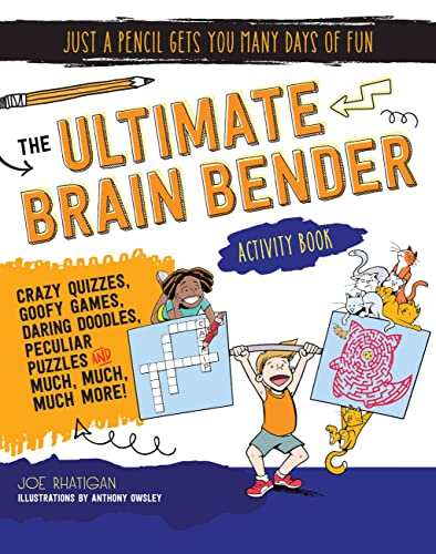 9781633221628: The Ultimate Brain Bender Activity Book (Just a Pencil Gets You Many Days of Fun)