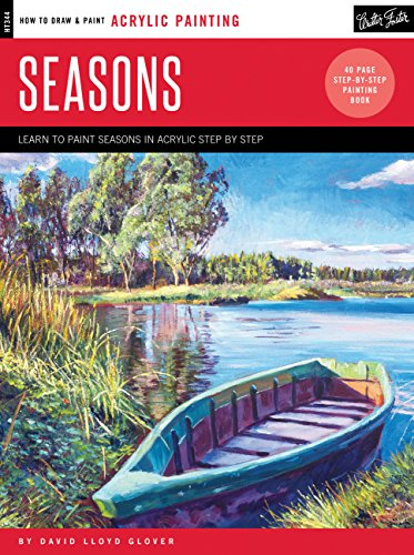 Acrylic: Seasons: Learn to paint the colors of the seasons step by step (How to Draw & Paint): ...