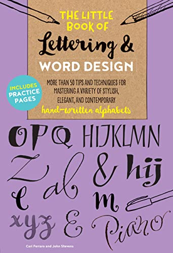 The Little Book of Lettering & Word: Cari Ferraro; John