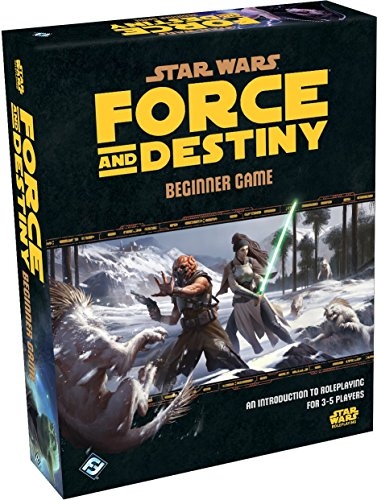 9781633441088: Star Wars Force and Destiny Beginner Game (Star Wars Role Playing Game)