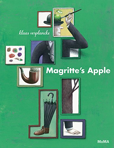 Magritte's Apple 9781633450165 A man named René floats through the world of his dreams and imagination, fulfilling his desire to become a painter—of apples and hats, a