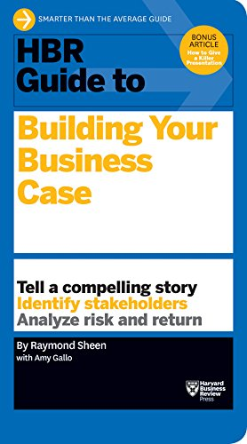 9781633690028: HBR Guide to Building Your Business Case (HBR Guide Series)