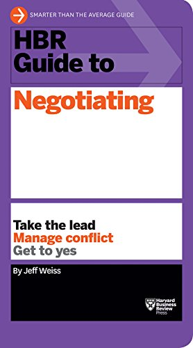 9781633690769: HBR Guide to Negotiating (HBR Guide Series)