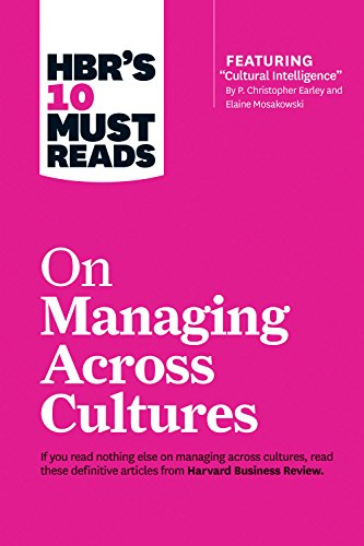 9781633691629: HBR's 10 Must Reads on Managing Across Cultures (with featured article