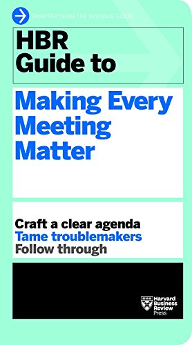 9781633692176: HBR Guide to Making Every Meeting Matter (Harvard Business Review Guides)