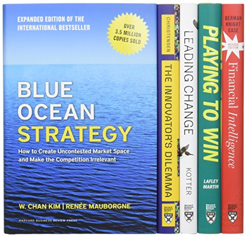 Harvard Business Review Leadership Strategy Boxed Set (5 Books): Harvard Business Review, John P. ...