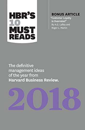 HBR's 10 Must Reads 2018: The Definitive: Review, Harvard Business;