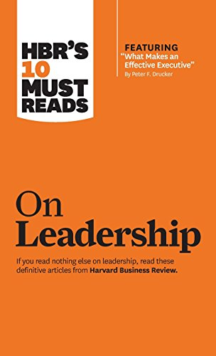 9781633694484: Hbr's 10 Must Reads on Leadership: With Featured Article What Makes an Effective Executive