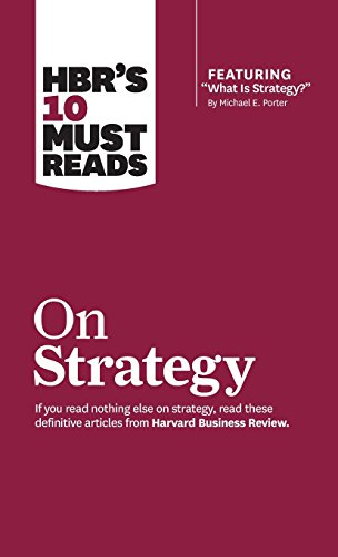 9781633694491: HBR's 10 Must Reads on Strategy (including featured article