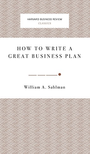 9781633694910: How to Write a Great Business Plan