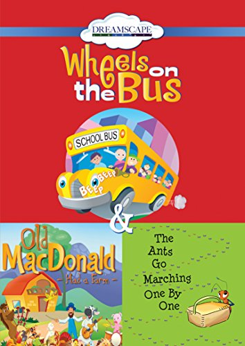 9781633797765: Wheels On The Bus; Old MacDonald Had a Farm; & The Ants Go Marching One By
