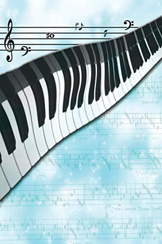 9781633834439: Diary - Journal - Blue Music Theme
