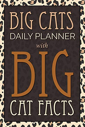 9781633835184: Big Cats Daily Planner: With Big Cat Facts