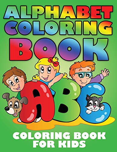 9781633837072: Alphabet Coloring Book (Coloring Book for Kids)