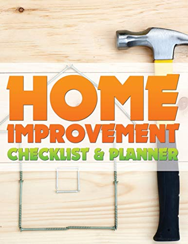 9781633837263: Home Improvement Checklist and Planner