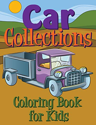 9781633837324: Car Collections Coloring Book for Kids