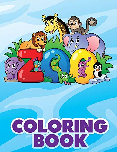 9781633837416: Zoo Coloring Book