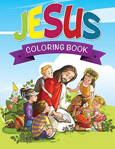 9781633837751: Jesus Coloring Book