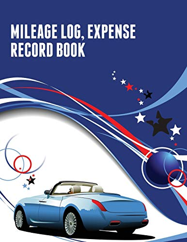 9781633838284: Mileage Log, Expense Record Book