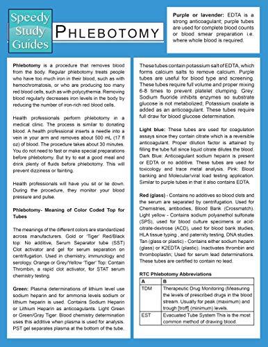9781633838888: Phlebotomy (Speedy Study Guide)