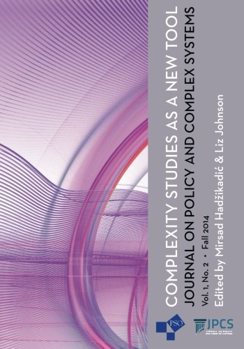 9781633911963: Complexity Studies as a New Tool (Journal on Policy and Complex Systems) (Volume 1)