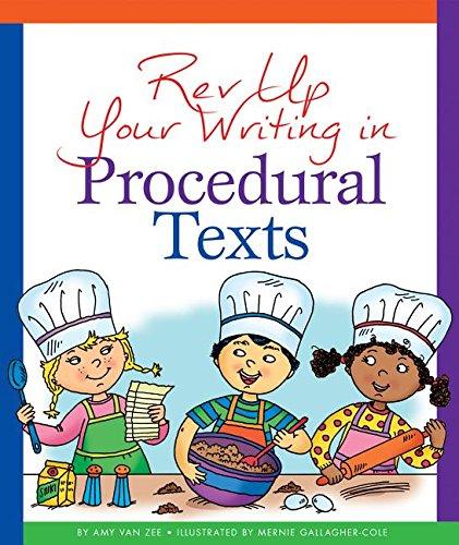 REV Up Your Writing in Procedural Texts: Zee, Amy Van