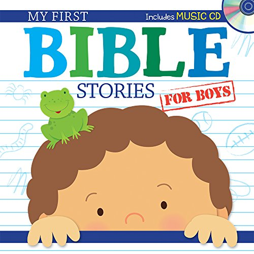 9781634090940: My First Bible Stories for Boys with CD