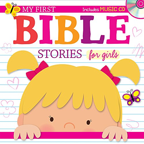 9781634090957: My First Bible Stories for Girls with CD