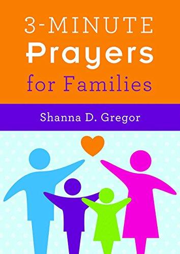 3-Minute Prayers for Families: Gregor, Shanna D.