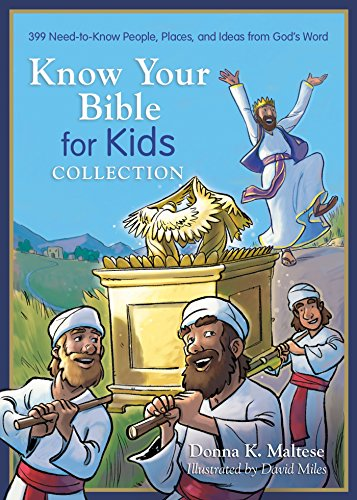 9781634094108: Know Your Bible for Kids Collection: 399 Need-to-Know People, Places, and Ideas from God's Word