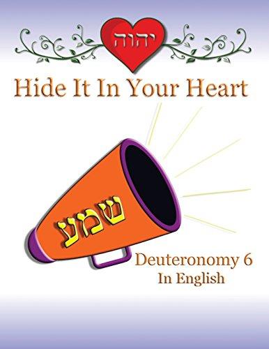 9781634155144: Hide It In Your Heart: Deuteronomy 6