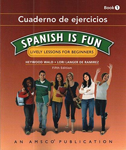 9781634199292: Spanish Is Fun: Book 1 - Companion Workbook (Cuaderno de ejercicios)