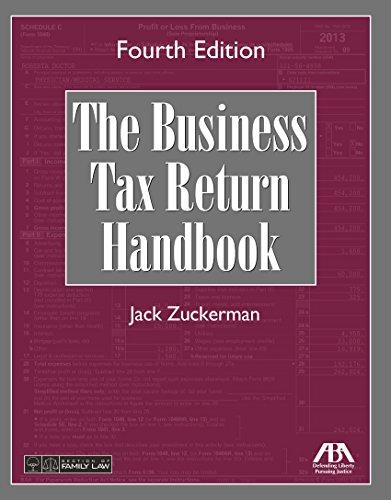 9781634250122: The Business Tax Return Handbook